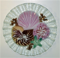 10.75 inch Sea Shell Plate