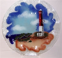 14 inch Barnegat Lighthouse Platter