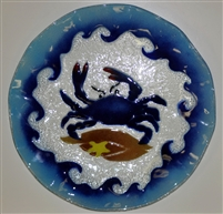 14 inch Blue Claw Crab Platter