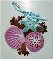7 inch Sea Shell Suncatcher
