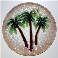 9 inch Palm Tree Plate