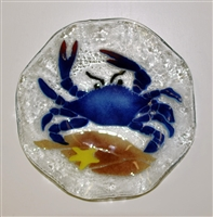 9 inch Blue Claw Crab Bowl