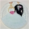 Bride and Groom 9 inch Plate