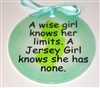 Jersey Girl limits none suncatcher aqua suncatcher