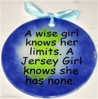 Jersey Girl limits none suncatcher blue