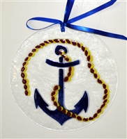 Anchor 7 inch Suncatcher