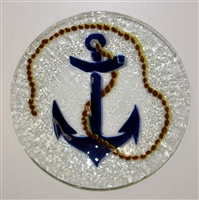 Anchor 9 inch Plate
