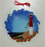 Barnegat Lighthouse 7 inch Suncatcher