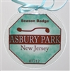 Any Town Beach Badge 7 inch Seafoam Suncatcher