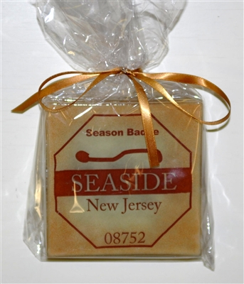 Any Town Beach Badge Sand Coasters