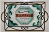 Any Town Beach Badge Seafoam Small Tray (with Metal Holder)
