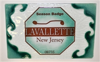 Any Town Beach Badge Seafoam Small Tray (Insert Only)