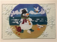 Beach Snowman Small Tray (Insert Only)