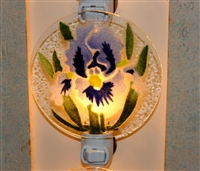 Blue Iris Nightlight