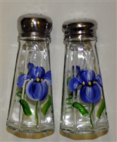Blue Iris Salt and Pepper Shakers