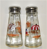 Bold Beach Scene Salt and Pepper Shakers