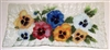 Bold Pansy Rectangle Plate