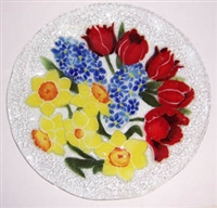 Bold Spring Floral 12 inch Plate