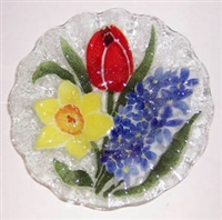 Bold Spring Floral 7 inch Bowl