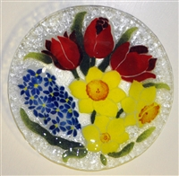 Bold Spring Floral 9 inch Plate