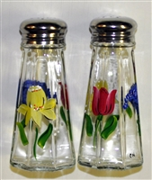 Bold Spring Floral Salt and Pepper Shakers