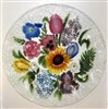 Flower Bouquet 12 inch Platter