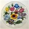 Flower Bouquet 14 inch Platter