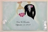 Bride and Groom Small Tray (Insert Only)