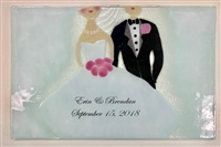 Bride and Groom Small Tray (Insert Only) Custom