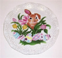 Brown Bunny 12 inch Platter