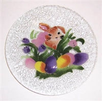 Brown Bunny 9 inch Plate
