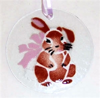 Brown Bunny Suncatcher