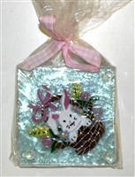 Bunny in Basket Coasters