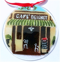 Cafe Beignet Suncatcher