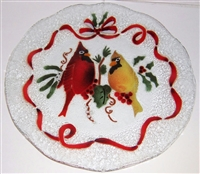 Cardinals 12 inch Plate