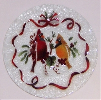 Cardinals 9 inch Plate