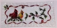 Cardinals Rectangle Plate