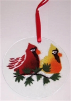 Cardinals Suncatcher