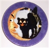 Cat and Moon 9 inch Plate