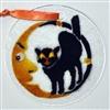 Cat and Moon Suncatcher