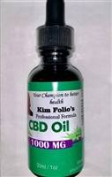 CBD Oil, 1000mg