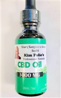 CBD Oil, 3000mg