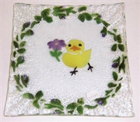 Chick Small Square Plate