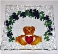 Claddagh Small Square Plate