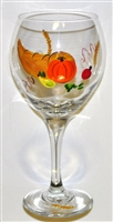 Cornucopia Red Wine Glass