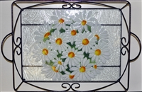 Daisy Large Tray (with Metal Holder)