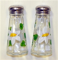 Daisy Salt and Pepper Shakers