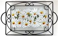 Daisy Small Tray (with Metal Holder)