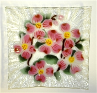 Dogwood Small Square Plate