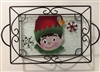 Elf Small Tray (with Metal Holder)